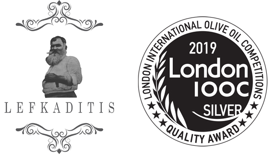 Silver Award for the Lefkaditis Olive Oil on the London IOOC 2019